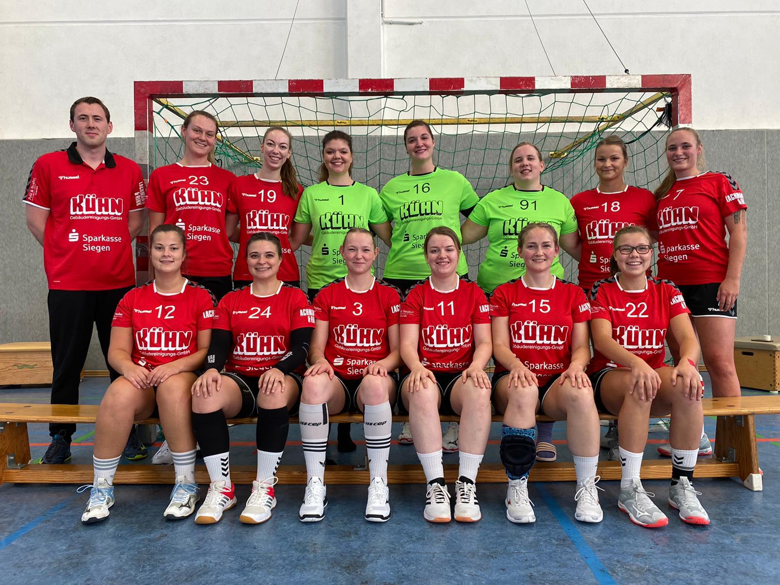 Mannschaftsfoto zweite Damenmannschaft